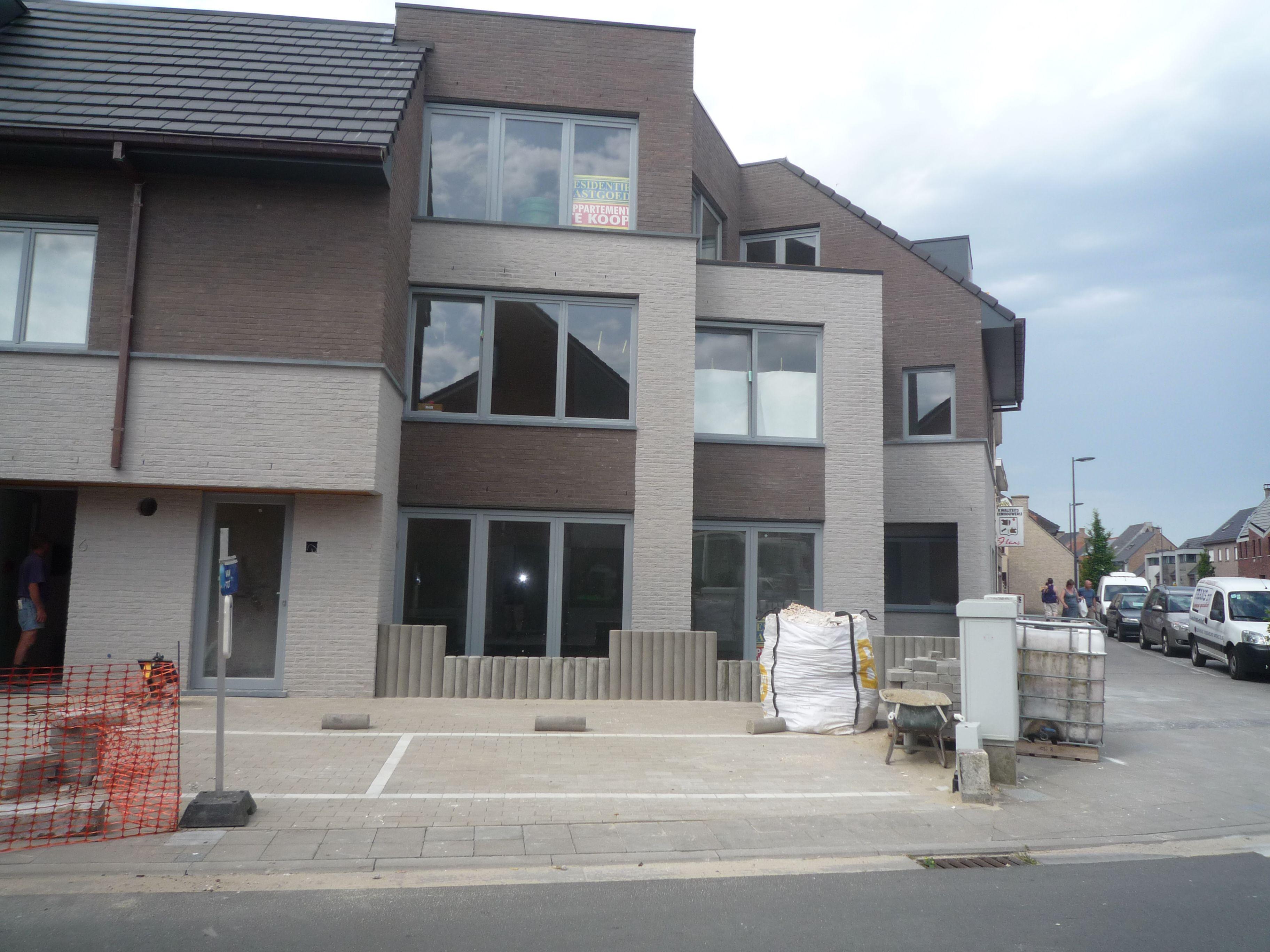 Nieuwbouw gelijkvloers te Oudenburg